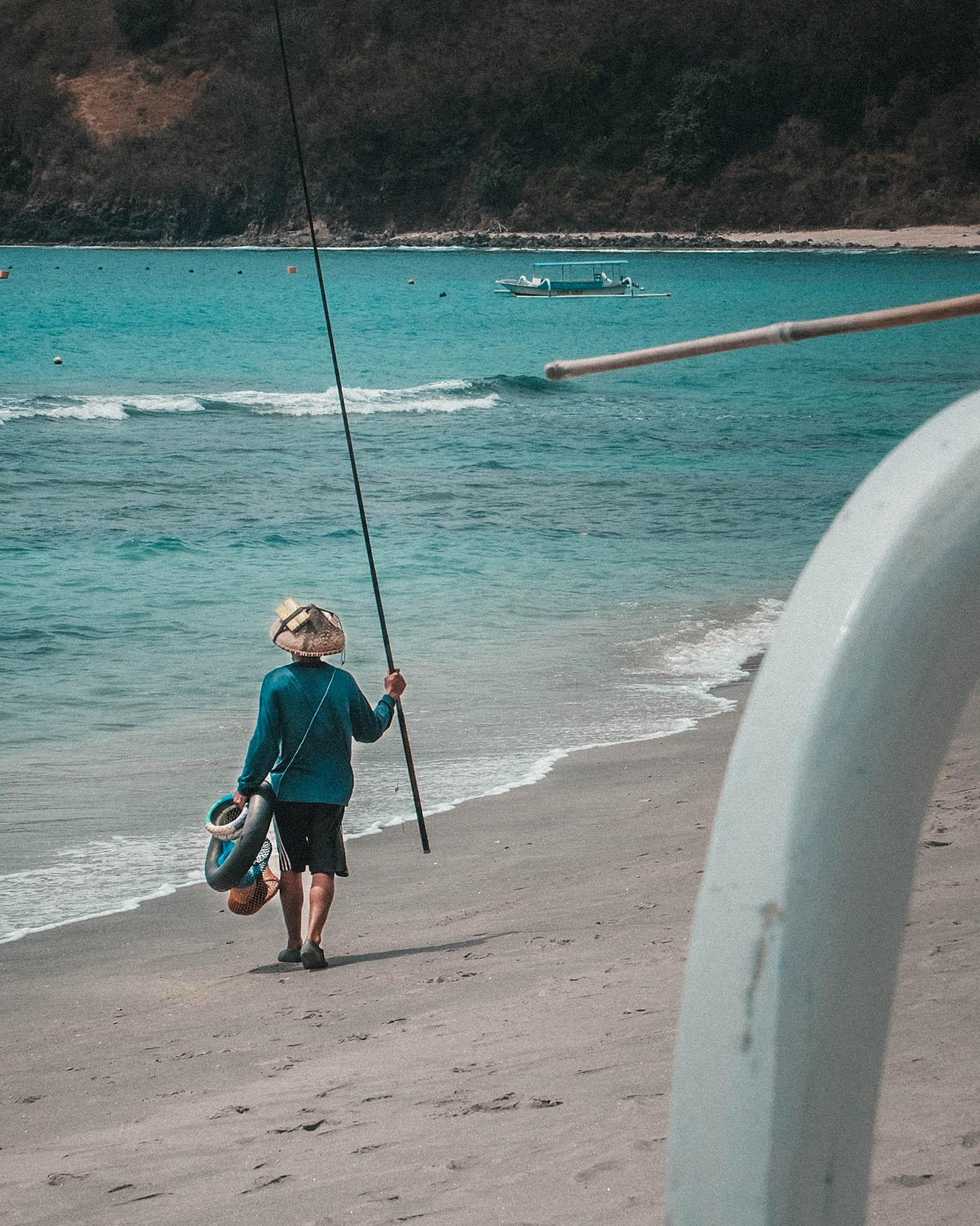 lombok fisherman